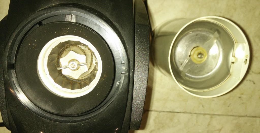 burr grinders instead of blade grinders
