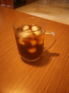Cold Brew COffee on Ice