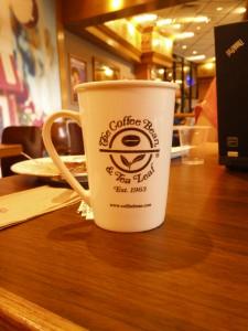 Coffee Bean and Tea Leaf mug