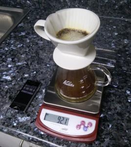 Kalita 102 Brewing