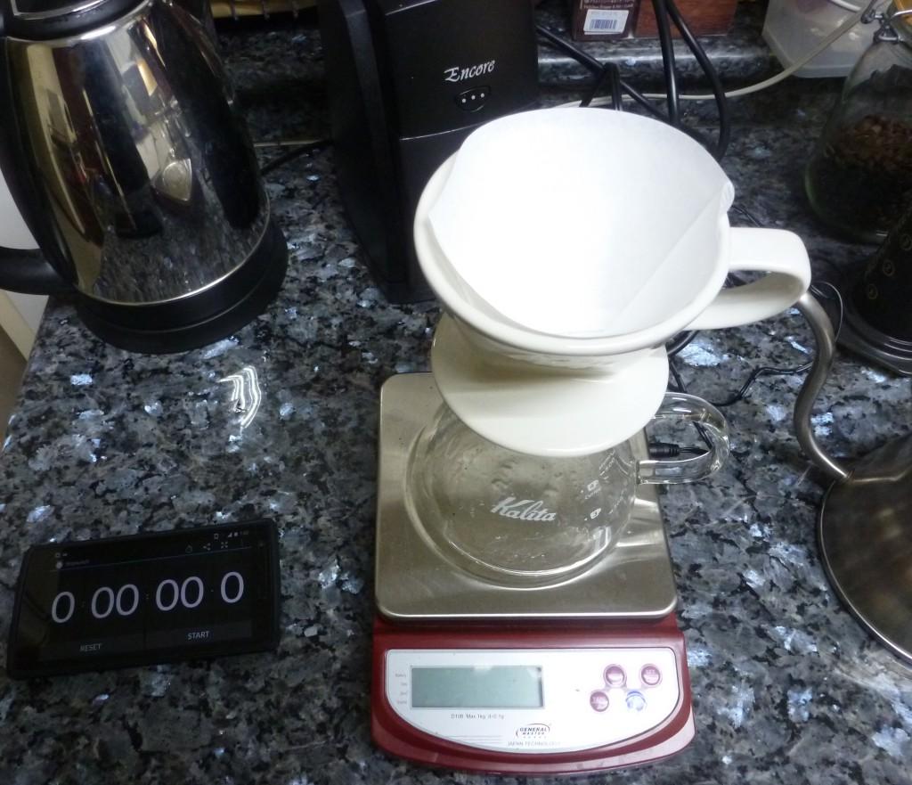 Pour Over coffee Prep